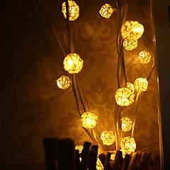 お買い得  LED ストリングライト-0.5m ストリングライト 25 LED 温白色 装飾用 220-240 V 1セット