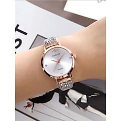 preiswerte Damenuhren-Damen Armbanduhr Quartz 30 m Wasserdicht Imitation Diamant Legierung Band Analog Retro Modisch Schwarz / Gold / Rotgold - Gold / Weiß Rotgold / Weiß Schwarz / Rotgold