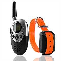 abordables Collares, Arneses y Correas para Perros-Perros Cuello / Entrenamiento Antiladrido / Eléctrico / LCD Clásico Metalic / El plastico Negro / Naranja