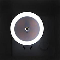 preiswerte Ausgefallene LED-Beleuchtung-YWXLIGHT® 1pc LED-Nachtlicht Weiß AC betrieben Sicherheit / Lichtsteuerung / Nacht 100-240 V