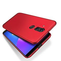 Недорогие Чехлы и кейсы для Huawei Mate-Кейс для Назначение Huawei Huawei Mate 20 Lite Ультратонкий / Матовое Кейс на заднюю панель Однотонный Твердый ПК для Mate 10 / Mate 10 pro / Mate 10 lite