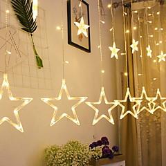 preiswerte LED Lichtstreifen-2,5 m Leuchtgirlanden 12 LEDs Warmes Weiß Dekorativ 220-240 V 1 set