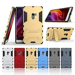 Недорогие Чехлы и кейсы для Xiaomi-Кейс для Назначение Xiaomi Mi Mix Защита от удара / со стендом Кейс на заднюю панель Однотонный Твердый ПК для Xiaomi Mi Mix