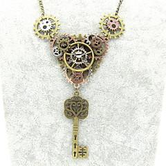 preiswerte Halsketten-Damen Statement Ketten - Ausrüstung Erklärung, Retro, Steampunk Cool Bronze 56+5 cm Modische Halsketten Schmuck 1pc Für Nacht Besondere Anlässe, Karnival
