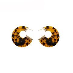 abordables Bijoux pour Femme-Femme Classique Boucles d'oreille goutte - Basique Marron Pour Cadeau Quotidien