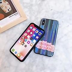 Недорогие Кейсы для iPhone 6 Plus-Кейс для Назначение Apple iPhone XS / iPhone XR С узором Чехол Животное Мягкий пластик для iPhone XS / iPhone XR / iPhone XS Max