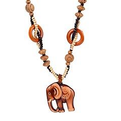 preiswerte Halsketten-Damen 3D Anhängerketten - Elefant Einfach Braun 64 cm Modische Halsketten Schmuck 1pc Für Alltag