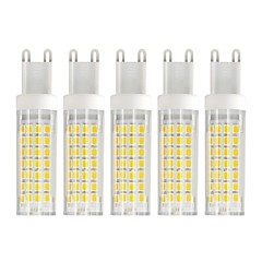 preiswerte LED-Birnen-5 Stück 6 W 750 lm G9 LED Mais-Birnen T 88 LED-Perlen SMD 2835 Warmes Weiß / Kühles Weiß 85-265 V
