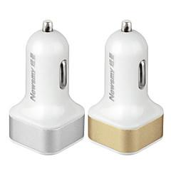 Недорогие Автоэлектроника-newsmy nm-5 безопасность высококачественный 12 v прикуриватель 2 USB-порта автомобильное зарядное устройство