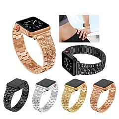 abordables Bracelets Apple Watch-Bracelet de Montre  pour Apple Watch Series 4/3/2/1 Apple Bracelet Sport Acier Inoxydable Sangle de Poignet