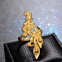 preiswerte Ringe-Damen Klassisch Ring Einstellbarer Ring - vergoldet Luxus, Hyperbel, Modisch Gold Für Hochzeit Geschenk
