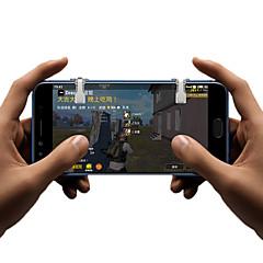 preiswerte Zubehör für Videospiele-YX13 Spiel auslösen Für Android / iOS . Tragbar / Kreativ / Neues Design Spiel auslösen ABS + PC 1 pcs Einheit