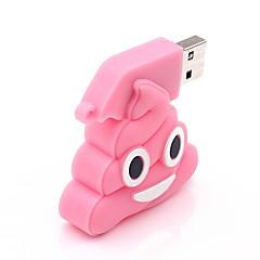 preiswerte USB Speicherkarten-8GB USB-Stick USB-Festplatte USB 2.0 Silica Gel Unregelmässig Kabellose Speichergräte