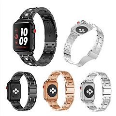 abordables Accessoires Apple Watch-Bracelet de Montre  pour Apple Watch Series 4/3/2/1 Apple Bracelet Sport Acier Inoxydable Sangle de Poignet