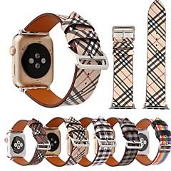 billige Apple Watch-tilbehør-Klokkerem til Apple Watch Series 4/3/2/1 Apple Lærrem Lær / Ekte lær Håndleddsrem