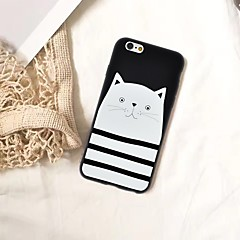 お買い得  iPhone 5S/SE ケース-ケース 用途 Apple iPhone XR / iPhone XS Max パターン バックカバー 猫 ソフト TPU のために iPhone XS / iPhone XR / iPhone XS Max