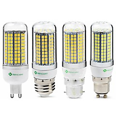 preiswerte LED-Birnen-SENCART 1pc 6 W 950 lm E14 / G9 / GU10 LED Mais-Birnen T 180 LED-Perlen SMD 2835 Neues Design / Dekorativ Warmes Weiß / Weiß 220-240 V / 110-130 V