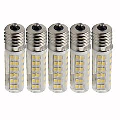 preiswerte LED-Birnen-5 Stück 4.5 W 450 lm E17 LED Mais-Birnen T 76 LED-Perlen SMD 2835 Abblendbar Warmes Weiß / Kühles Weiß 220 V