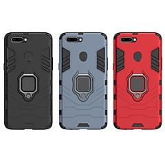 お買い得  その他のケース-ケース 用途 OPPO R11s Plus 耐衝撃 / バンカーリング バックカバー ソリッド / 鎧 ハード PC のために OPPO R11s Plus