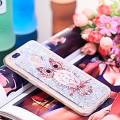 Недорогие Чехлы и кейсы для Xiaomi-Кейс для Назначение Xiaomi Mi 5X Защита от удара / Сияние и блеск Кейс на заднюю панель Сова / Сияние и блеск Мягкий ТПУ для Xiaomi Mi 5X