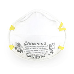 abordables Protección Personal-Máscara de resistencia for Lugar de trabajo seguro A prueba de polvo 0.02 kg