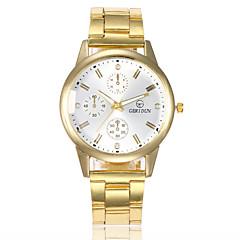 preiswerte Damenuhren-Damen Kleideruhr Armbanduhr Quartz Armbanduhren für den Alltag Legierung Band Analog Retro Modisch Gold - Gold Weiß Schwarz
