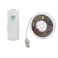 お買い得  LED ストリングライト-BRELONG® 1.5m フレキシブルLEDライトストリップ 45 LED SMD3528 温白色 防水 / USB / 装飾用 5 V 1個