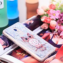 Недорогие Чехлы и кейсы для Xiaomi-Кейс для Назначение Xiaomi Redmi Note 4 Защита от удара / Сияние и блеск Кейс на заднюю панель Сова / Сияние и блеск Мягкий ТПУ для Xiaomi Redmi Note 4