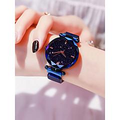 preiswerte Damenuhren-Damen Armbanduhr Quartz 30 m Wasserdicht Imitation Diamant Legierung Band Analog Freizeit Modisch Schwarz / Blau / Lila - Purpur Blau Rotgold