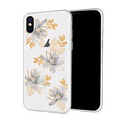 Недорогие Кейсы для iPhone 7-Кейс для Назначение Apple iPhone XR / iPhone XS Max С узором Кейс на заднюю панель Мультипликация / Цветы Мягкий ТПУ для iPhone XS / iPhone XR / iPhone XS Max