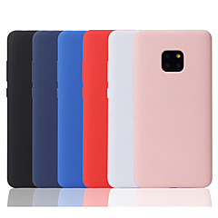 cheap Cases / Covers for Huawei-Case For Huawei P20 lite / Huawei Mate 20 Pro Frosted Back Cover Solid Colored Soft TPU for Huawei P20 / Huawei P20 Pro / Huawei P20 lite