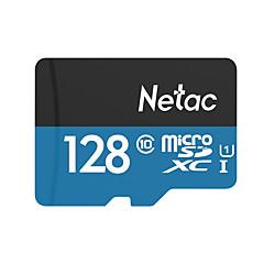 ราคาถูก เมมโมรี่การ์ด-Netac 128GB การ์ดหน่วยความจำ UHS-I U1 / Class10 P500