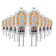 preiswerte LED-Birnen-10 Stück 3 W 200-300 lm G4 LED Doppel-Pin Leuchten T 12 LED-Perlen SMD 2835 lieblich 220-240 V