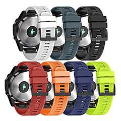Недорогие -Ремешок для часов для Approach S60 / Fenix 5 / Fenix 5 Plus Garmin Спортивный ремешок силиконовый Повязка на запястье