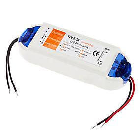 Недорогие Преобразователи напряжения-110-240 V Осветительная арматура пластик Источники питания