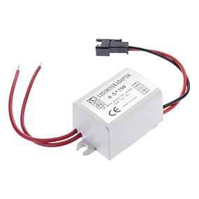 halpa LED-ohjain-zdm 0.3a 4-5w DC 12-16v AC 85-265v led lamppu katuvalaisin kattovalaisin jatkuva virtalähde