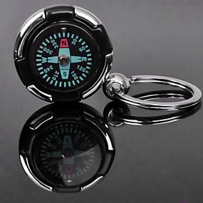 billige Artikler til hjemmet-Personlig indgravering gave Compass Formet Lover nøglering
