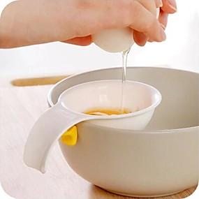 ieftine Ustensile Bucătărie & Gadget-uri-mini separator de gălbenuș de ou cu separator de oțel separator de oțel