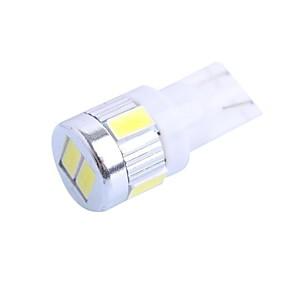 Недорогие Прочие светодиодные лампы-SO.K T10 Лампы 2W SMD 5630 6 Внутреннее освещение Назначение