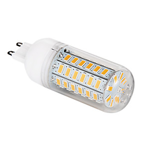 abordables Luces LED de Doble Pin-1pc 5 W Bombillas LED de Mazorca 500-620 lm G9 T 56 Cuentas LED SMD 5730 Blanco Cálido Blanco Fresco 220-240 V