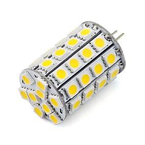 abordables Luces LED de Doble Pin-1pc 4.5 W Focos LED 452 lm G4 49 Cuentas LED SMD 5050 Decorativa Blanco Cálido Blanco Fresco 12 V 24 V / Cañas