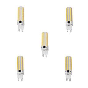 abordables Luces LED de Doble Pin-YWXLIGHT® 5pcs 10 W Bombillas LED de Mazorca 1000 lm G9 T 152 Cuentas LED SMD 3014 Regulable Blanco Cálido Blanco Fresco 220-240 V / 5 piezas