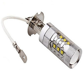 Недорогие Прочие светодиодные лампы-Декоративное освещение 1200 lm H3 14LED Светодиодные бусины Высокомощный LED Декоративная Холодный белый 12 V 24 V / 1 шт. / RoHs / CCC