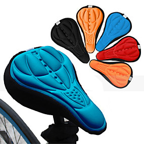 levne Kolo a cyklistika-Kryt na sedlo Prodyšné Pohodlné 3D Pad Silikon Silica gel Cyklistika Silniční kolo Horské kolo Oranžová Červená Modrá