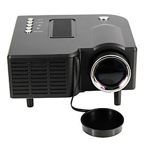 billige Projektorer-UNIC UC28+ LCD LED Projektor 48 Lumens Support 1080P (1920x1080) 20-80 inches / QVGA (320x240) / ±15°