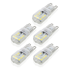 abordables Luces LED de Doble Pin-ywxlight® g9 14led 4w 2835smd 450-550 lm llevó luces bi-pin blanco cálido blanco regulable led lámpara de lámpara de bombilla de maíz 10pcs
