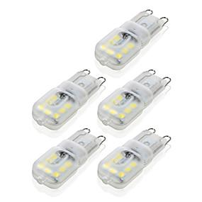 billige LED-lamper med G-sokkel-ywxlight® g9 14led 4w 2835smd 450-550 lm ledet bi-pin lys varm hvid cool hvid dæmpbar led majs pære lysekrone lampe 10stk