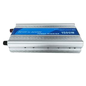 economico Inverter di alimentazione del veicolo-Meind 1500w power inverter convertitore di potenza sinusoidale di correzione 12v a 220v