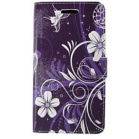 Недорогие Чехлы и кейсы для Galaxy S5 Mini-Кейс для Назначение SSamsung Galaxy S8 / S7 / S6 edge Кошелек / Бумажник для карт / со стендом Чехол Камуфляж / Мандала / Цветы Твердый Кожа PU