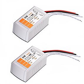 Недорогие Преобразователи напряжения-Переменного тока 110-240 В до 12 В постоянного тока 18 Вт светодиодный преобразователь напряжения